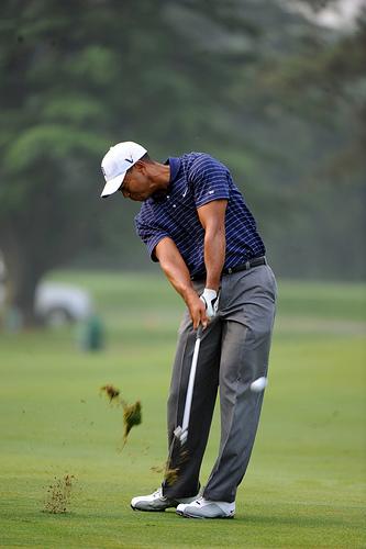 方 ゴルフ アイアン 打ち
